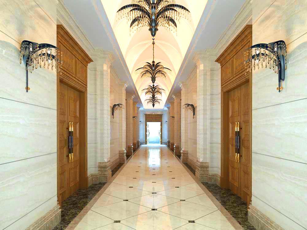 corridor 026 two 3d model max 139490