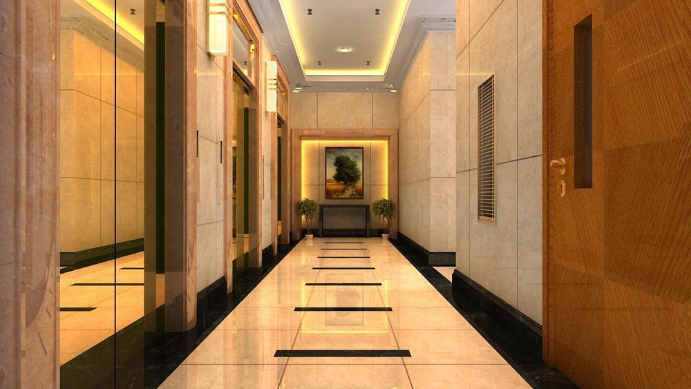 corridor 028 two 3d model max 139494