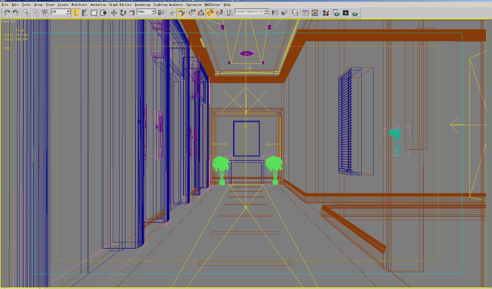 corridor 028 two 3d model max 139495