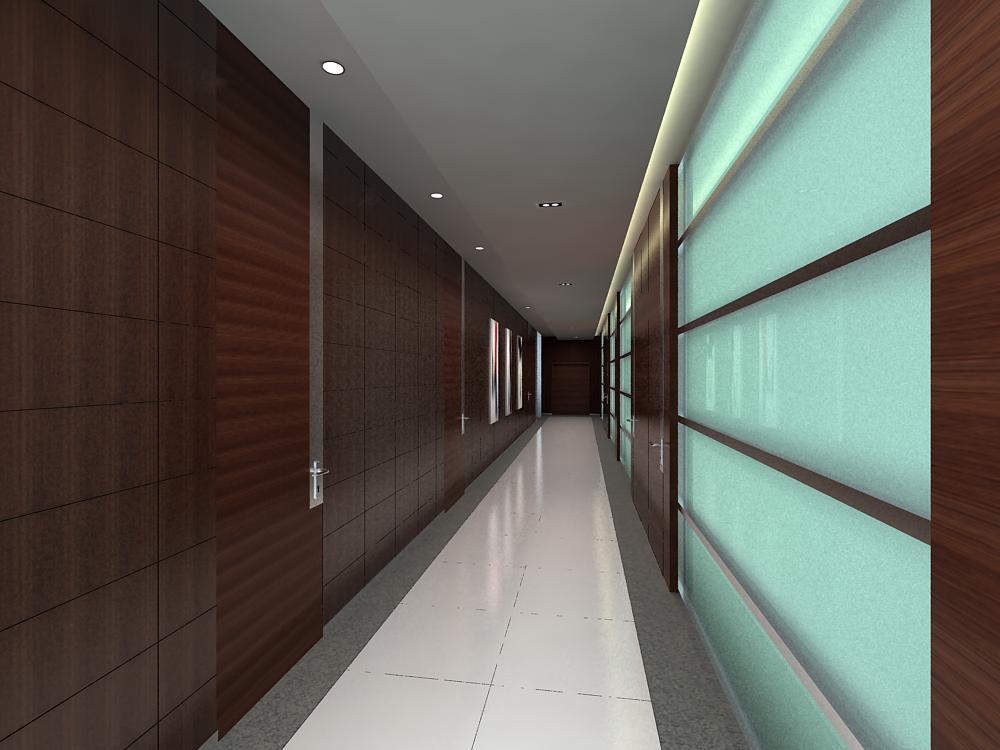 corridor 033 two 3d model max 139504