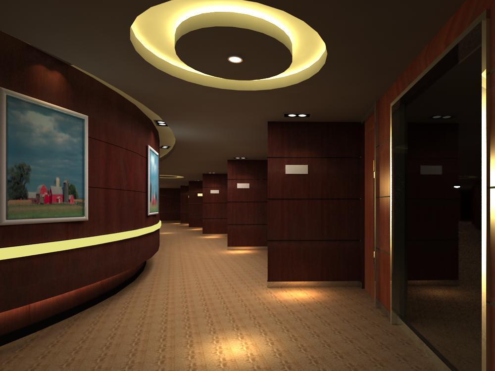 corridor 035 two 3d model max 139508
