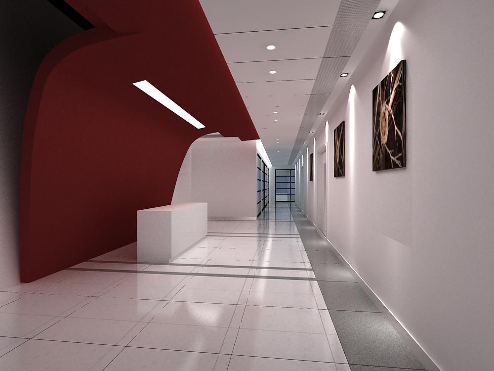 corridor 036 two 3d model max 139510
