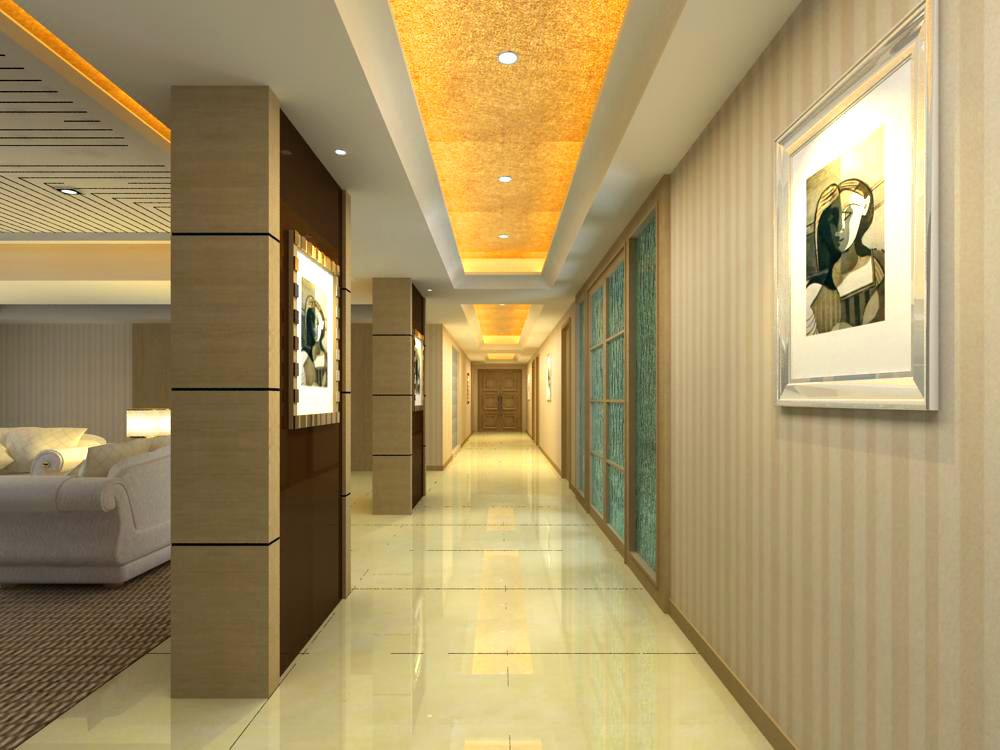 corridor 038 two 3d model max 139514