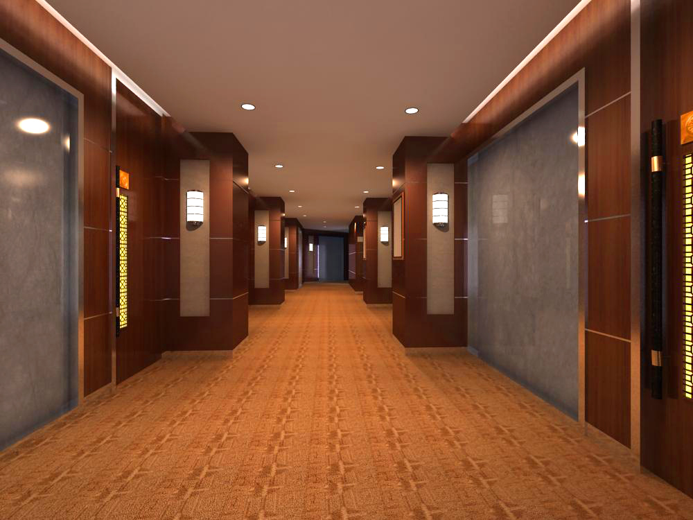 corridor 041 two 3d model max 139520