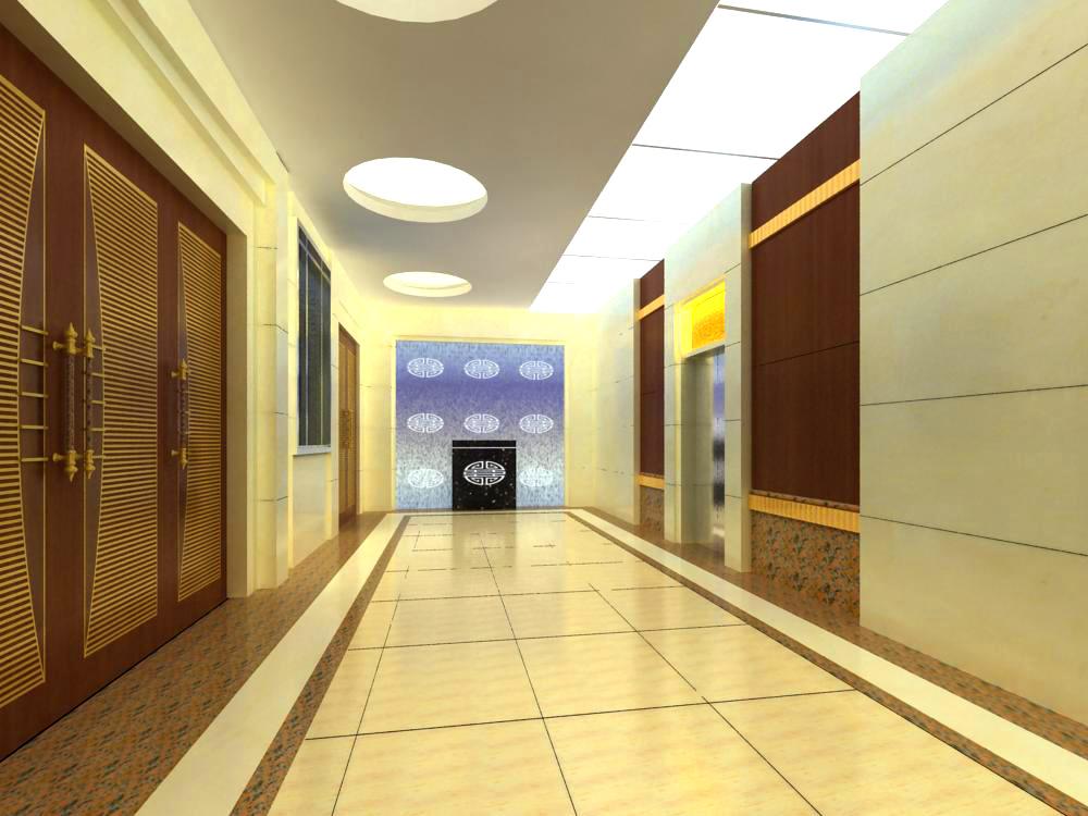 corridor 046 3d model max 139530