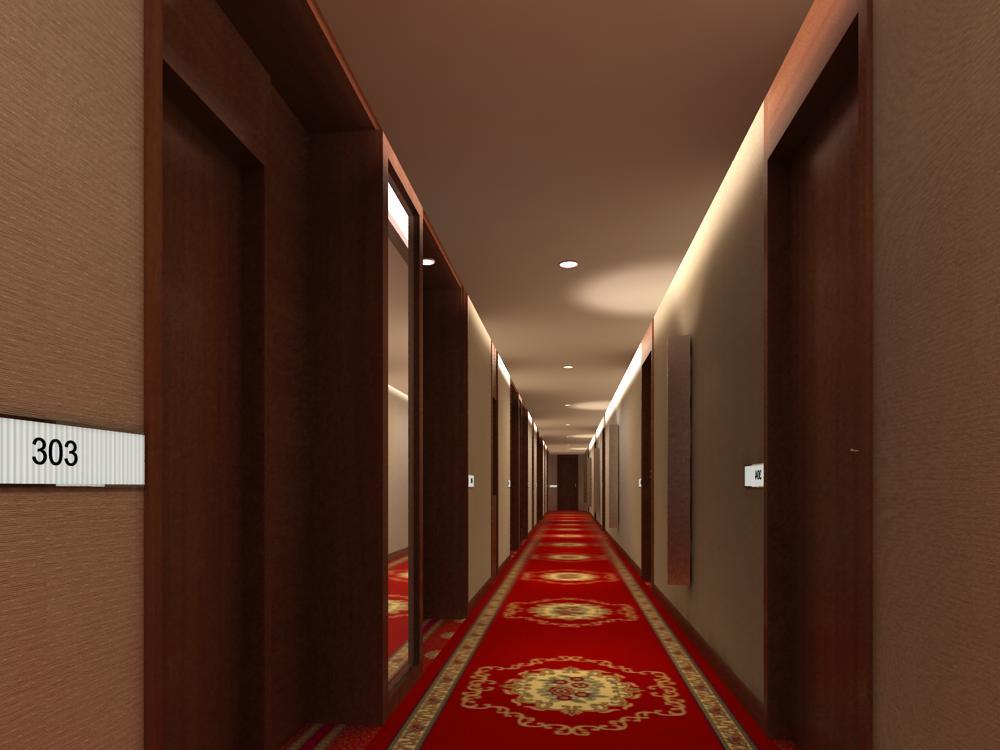 corridor 048 3d model max 139534