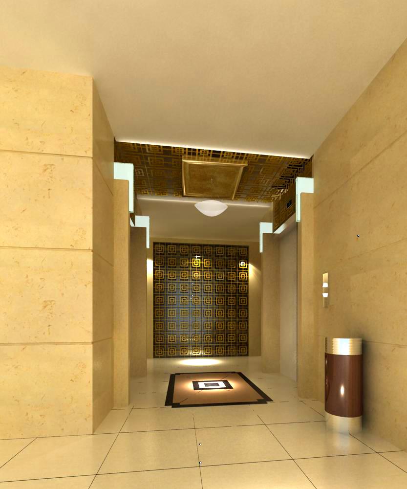 corridor 049 3d model max 139536