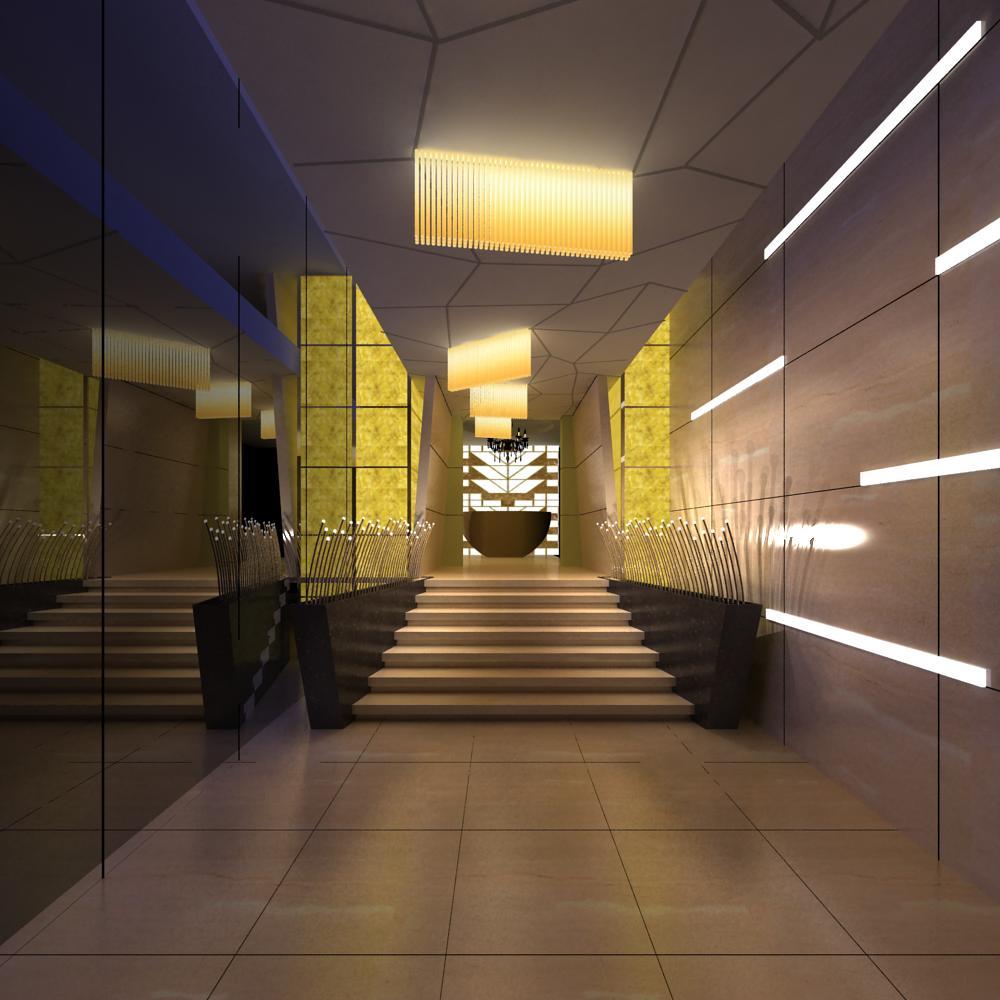 corridor 050 3d model max 139538