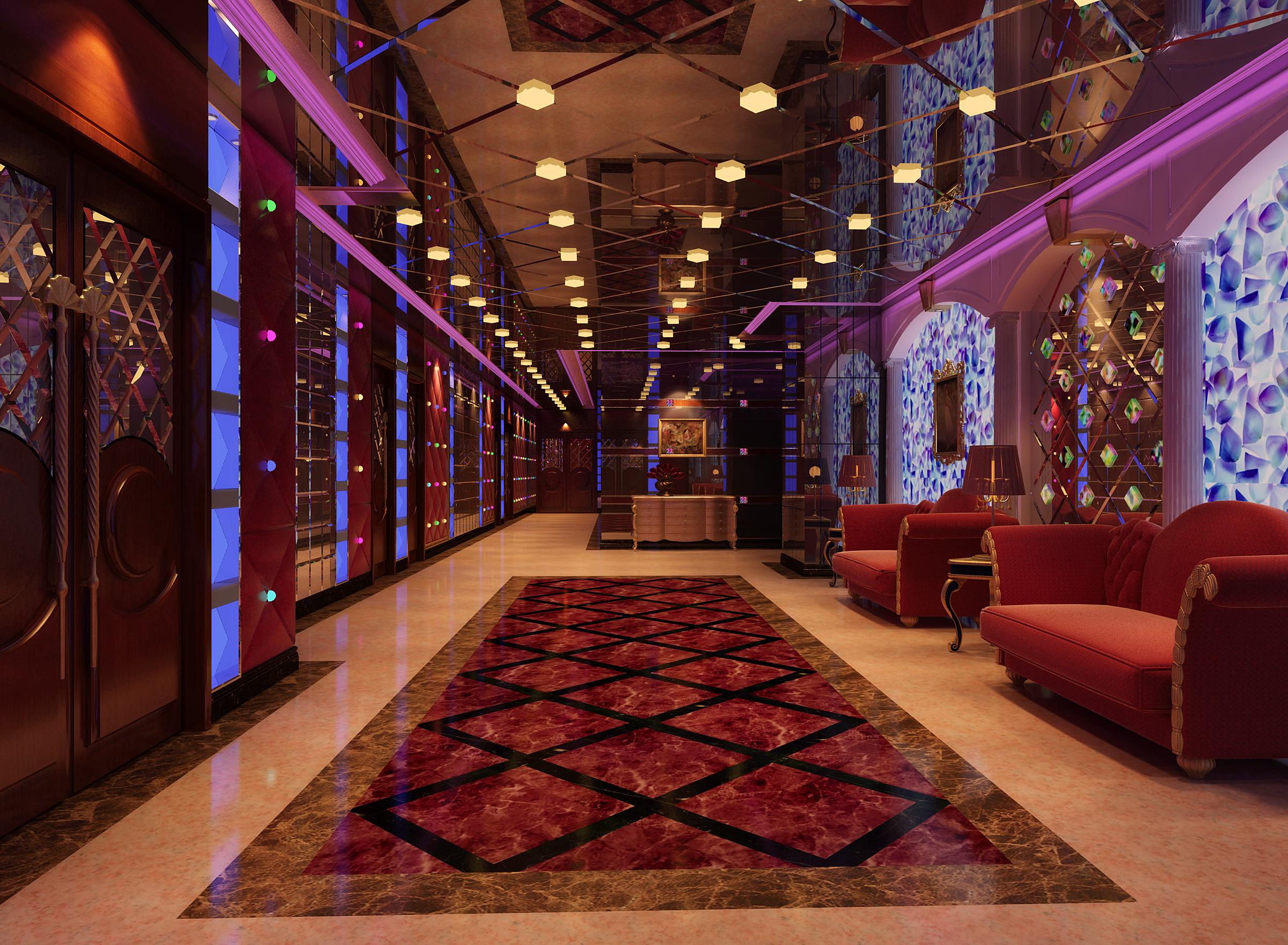 corridor 056 3d model max 139550