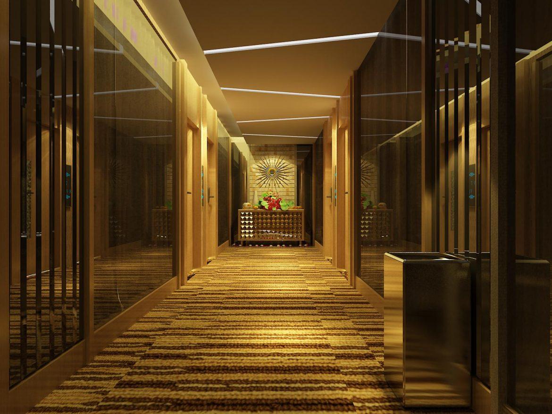 corridor 059 3d model max 139556