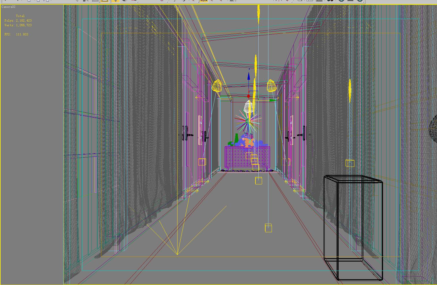 corridor 059 3d model max 139557