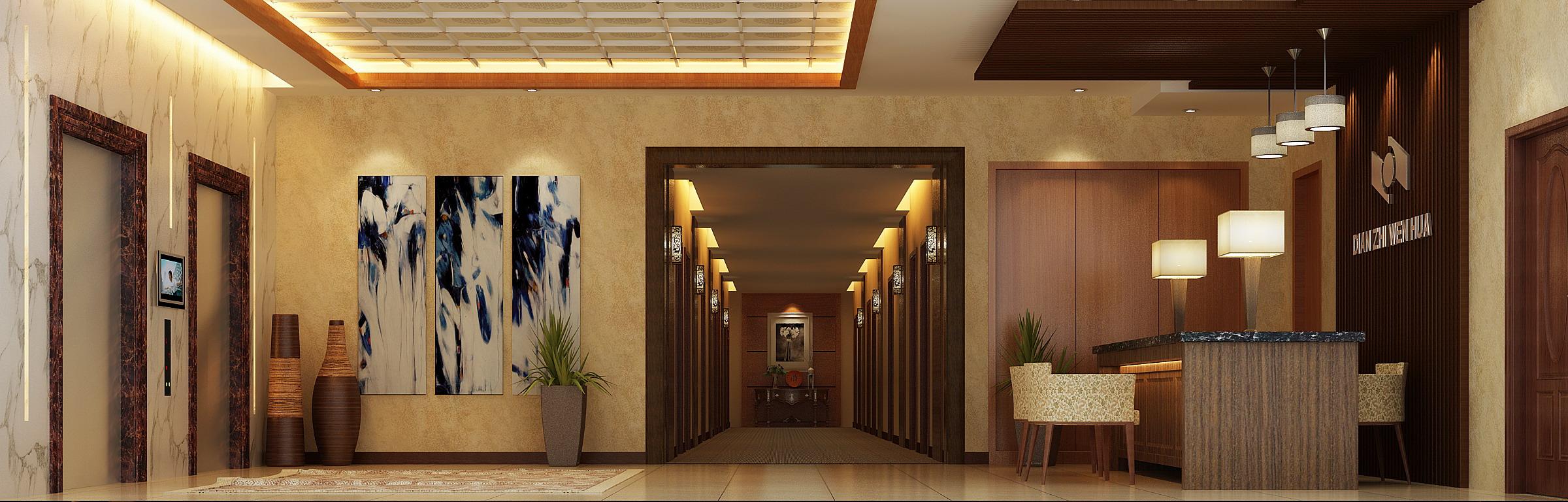 corridor 060 3d model max 139558