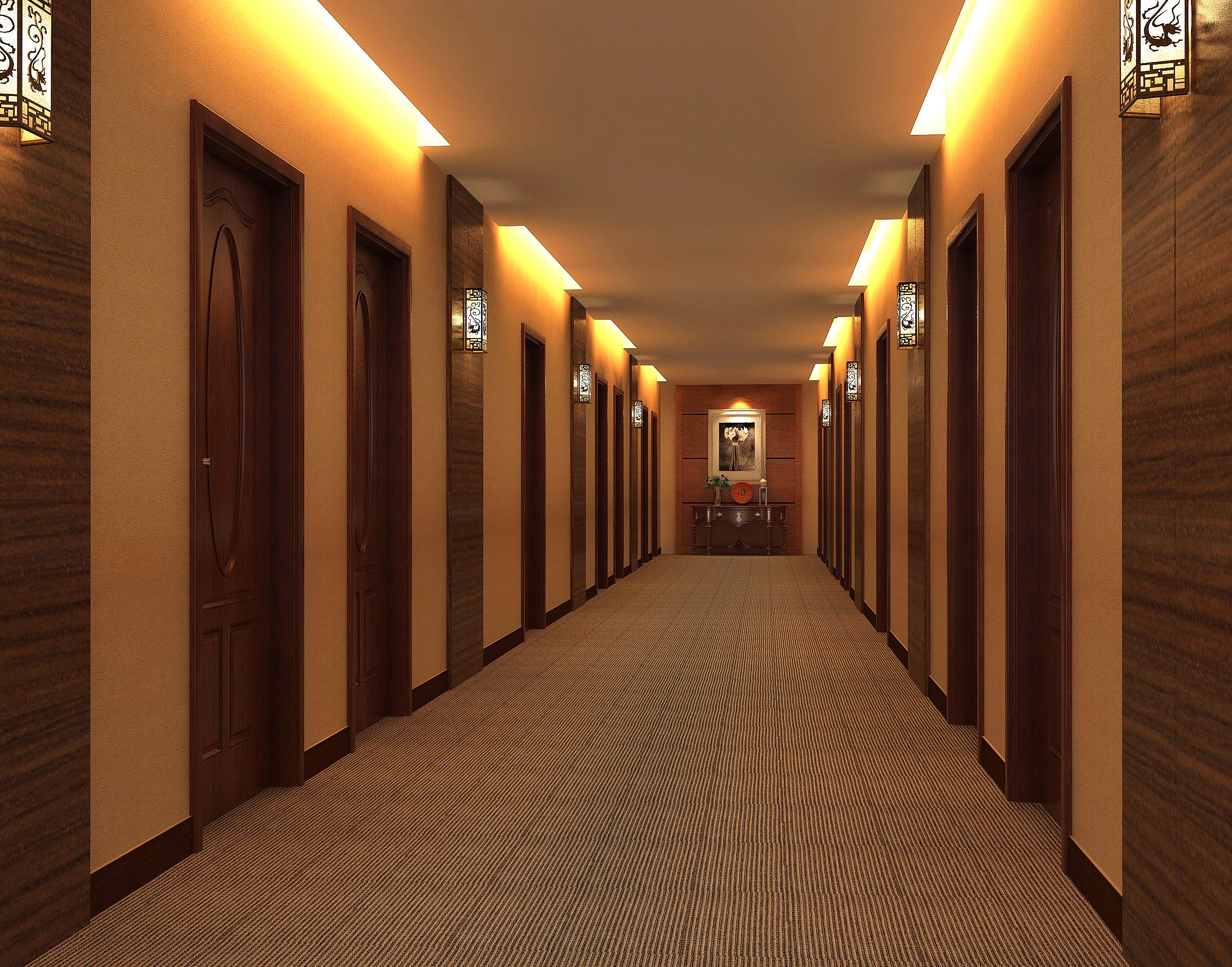 corridor 060 3d model max 139559
