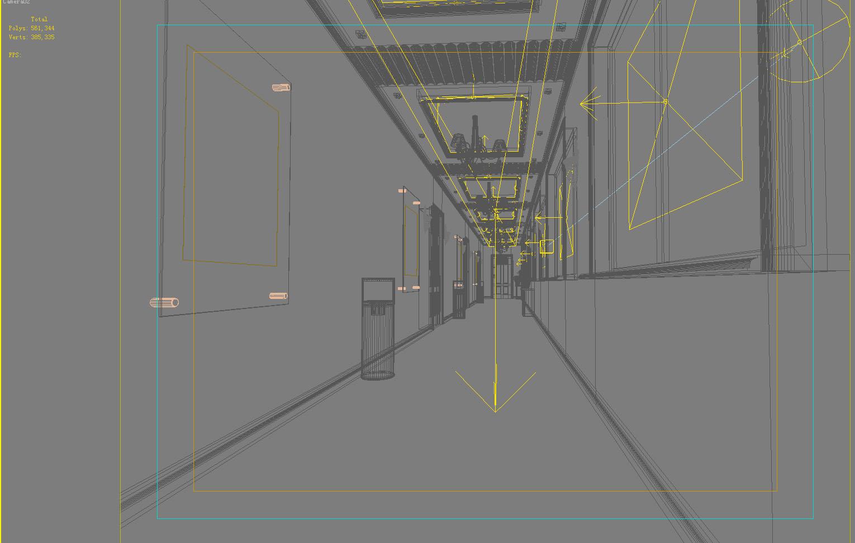 corridor 062 3d model max 139567