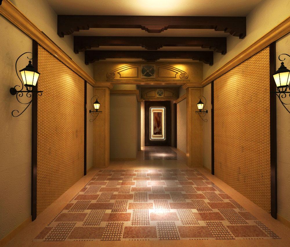 corridor space 007 3d model max 133678