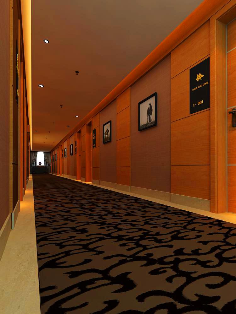 corridor space 011 3d model max 133939