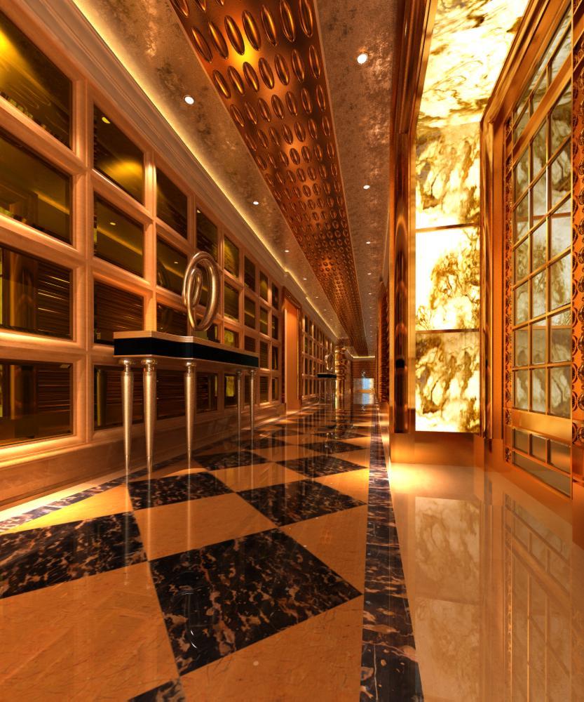 corridor space 013 3d model max 134017