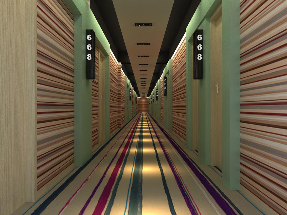 corridor space 014 3d model max 134019