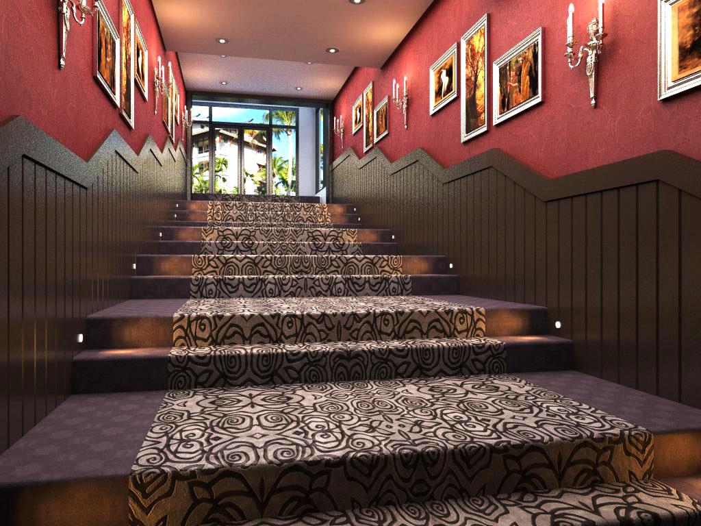 corridor space 015 3d model max 134021