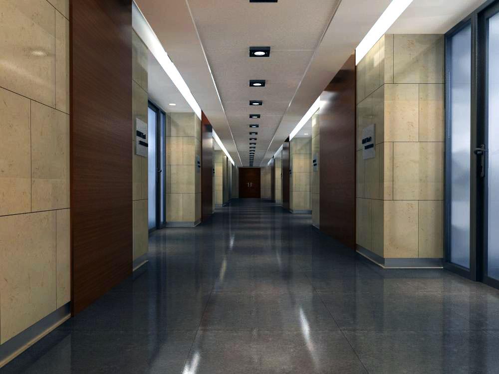 corridor space 020 3d model max 134235