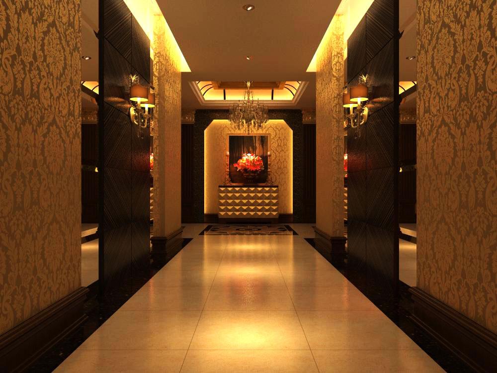 corridor space 021 3d model max 134237