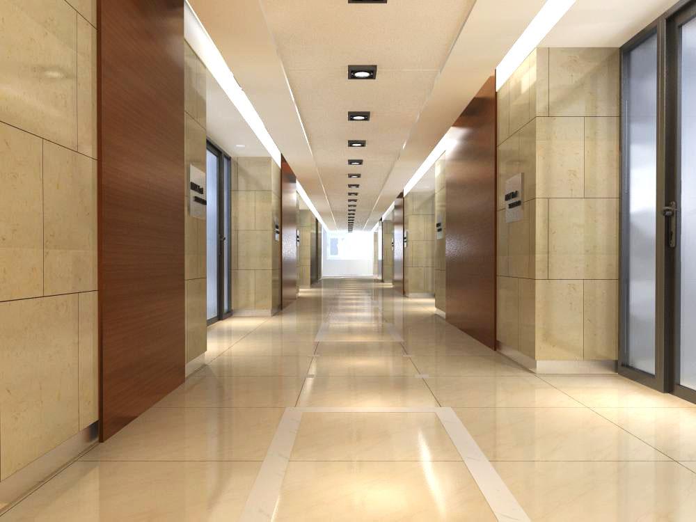 corridor space 022 3d model max 134239