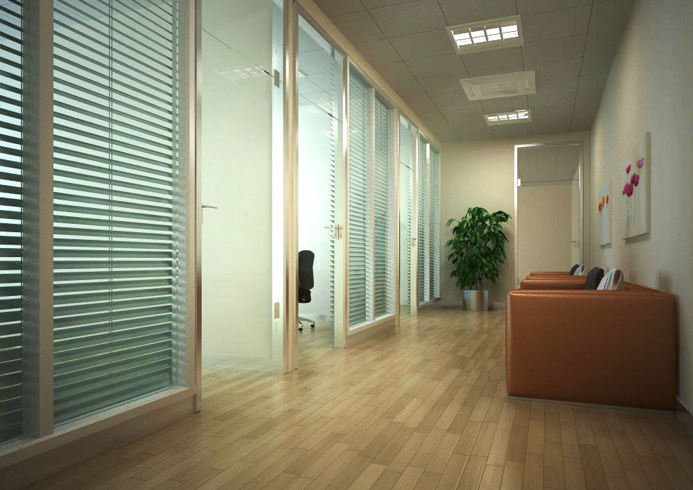 corridor space 023 3d model max 134241