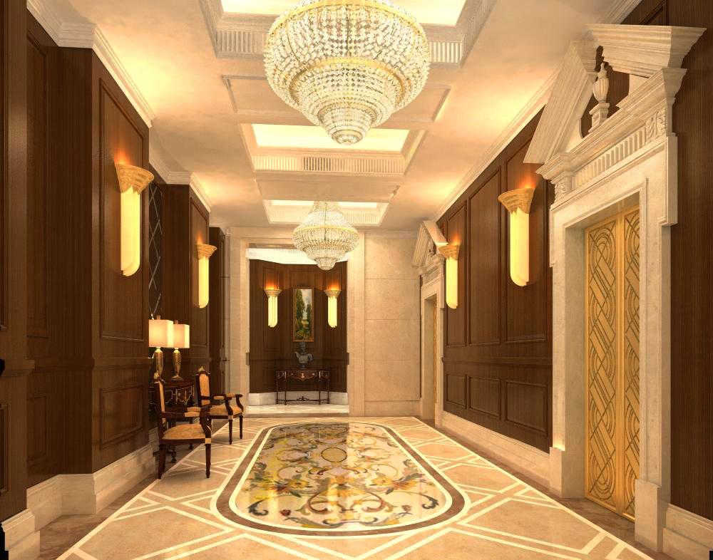 corridor space 024 3d model max 134243