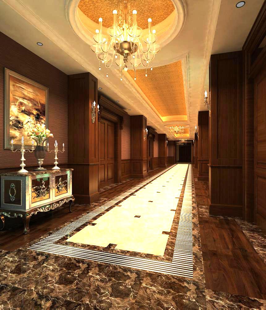 corridor space 027 3d model max 134257