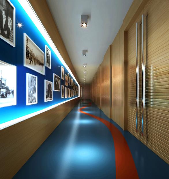 corridor space 032 3d model max 134525