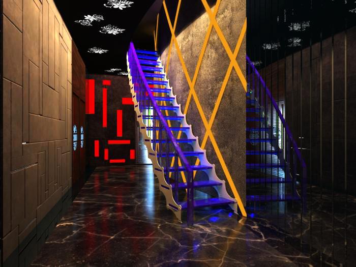 corridor space 033 3d model max 134535