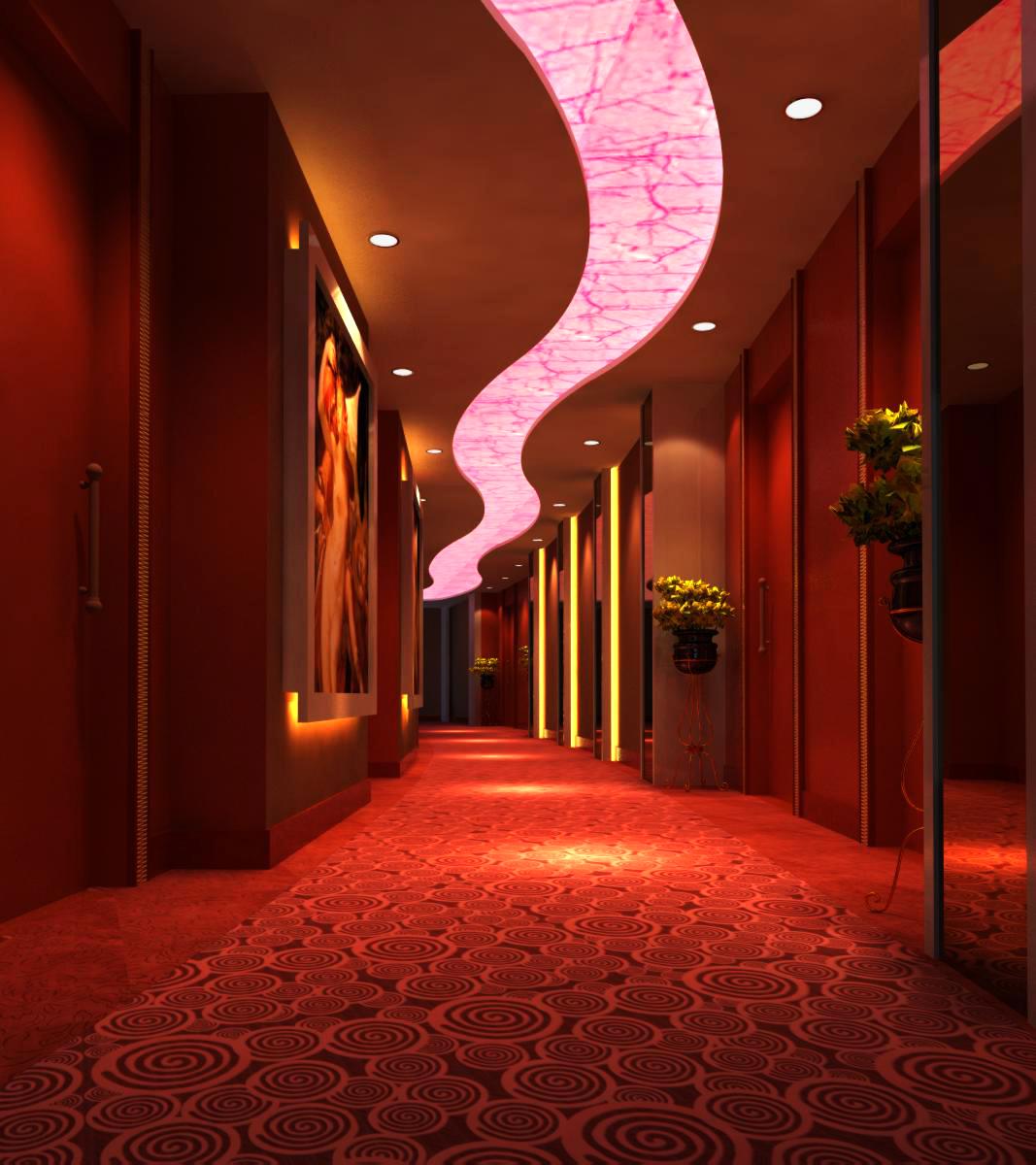 corridor space 039 3d model max 134557