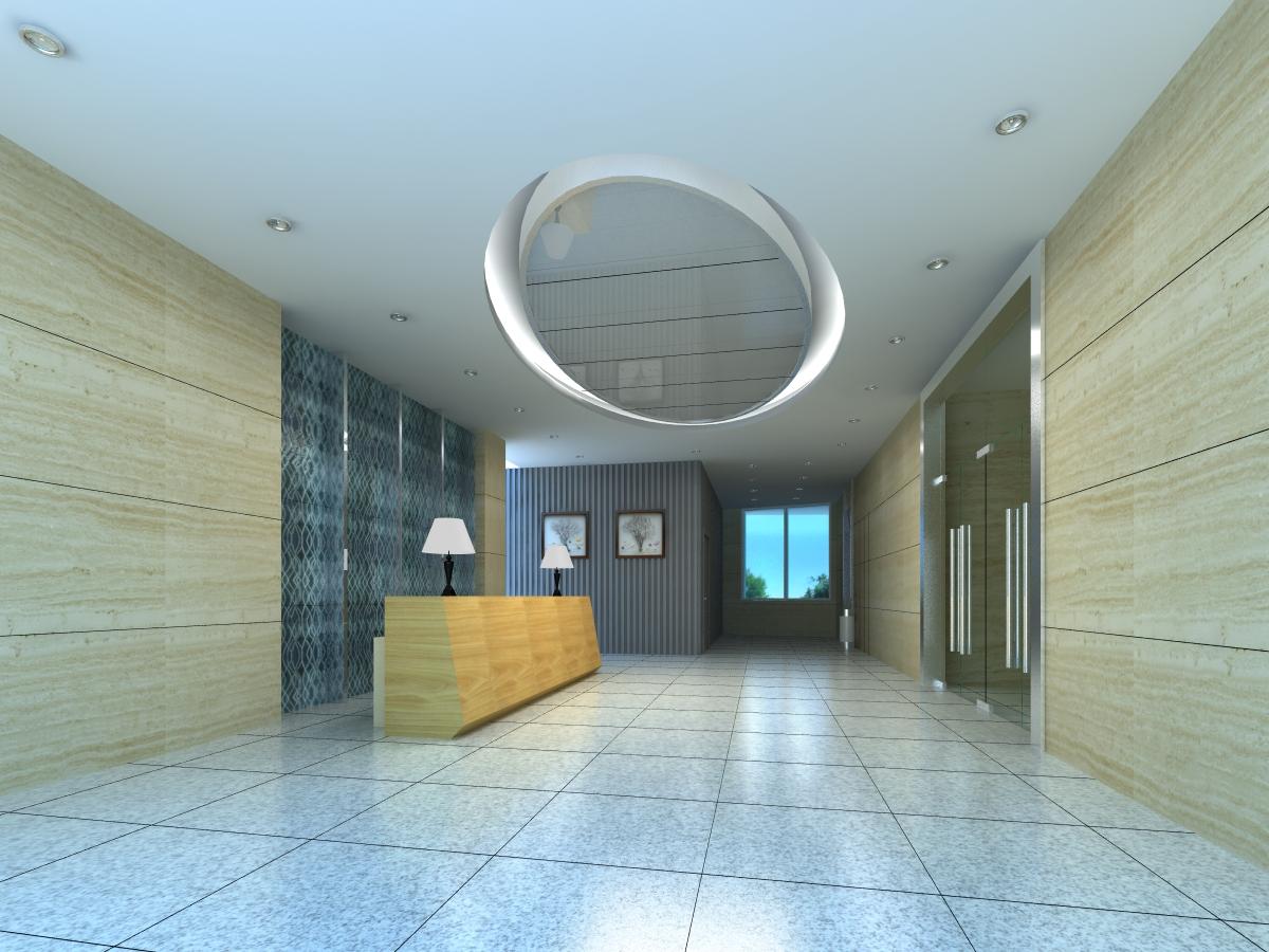 corridor space 059 3d model max 135070