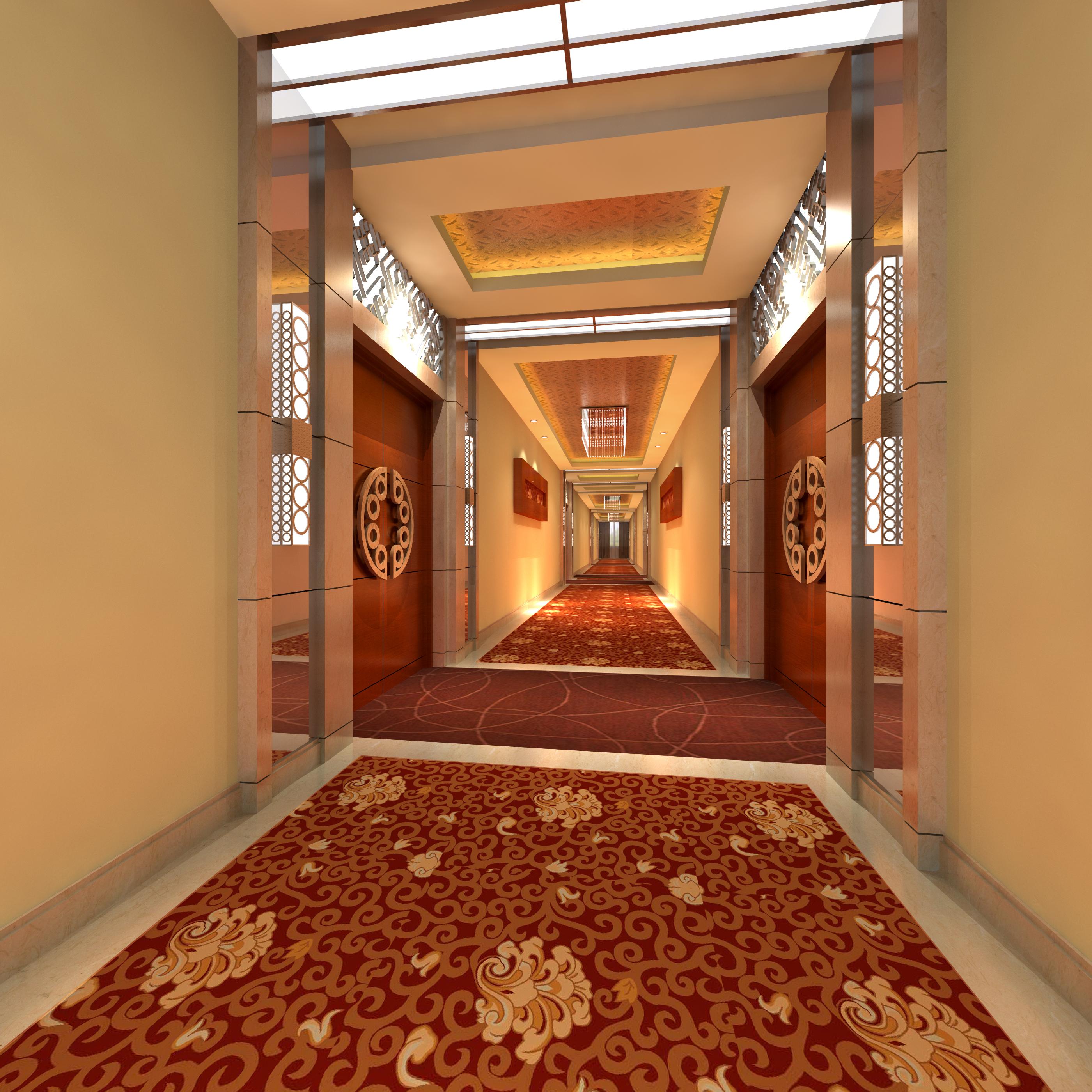 corridor space 072 3d model max 136096