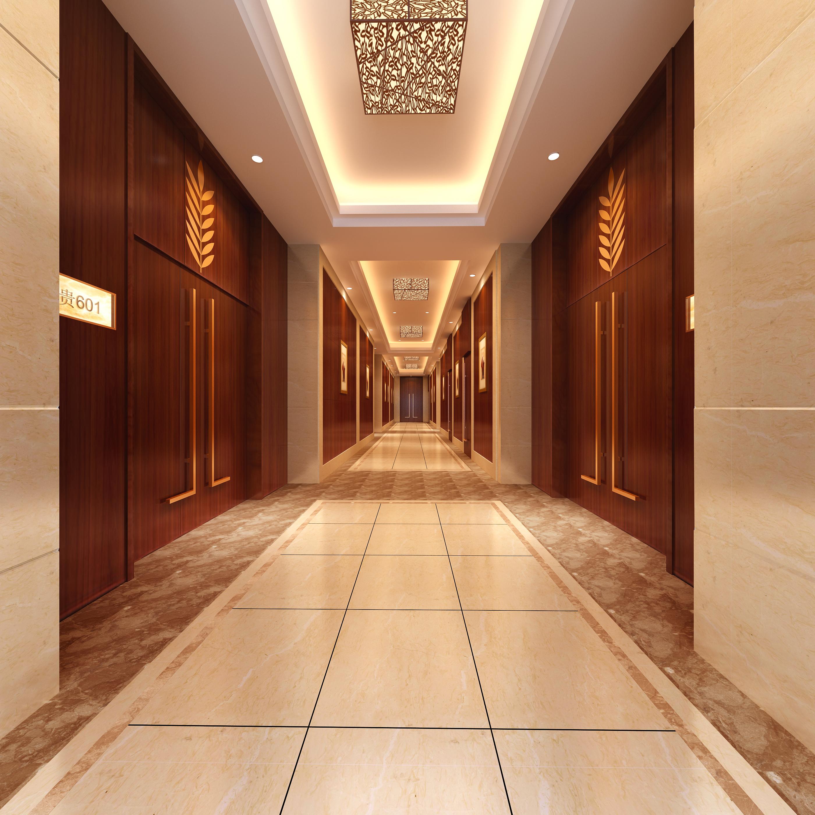 corridor space 075 3d model max 136102