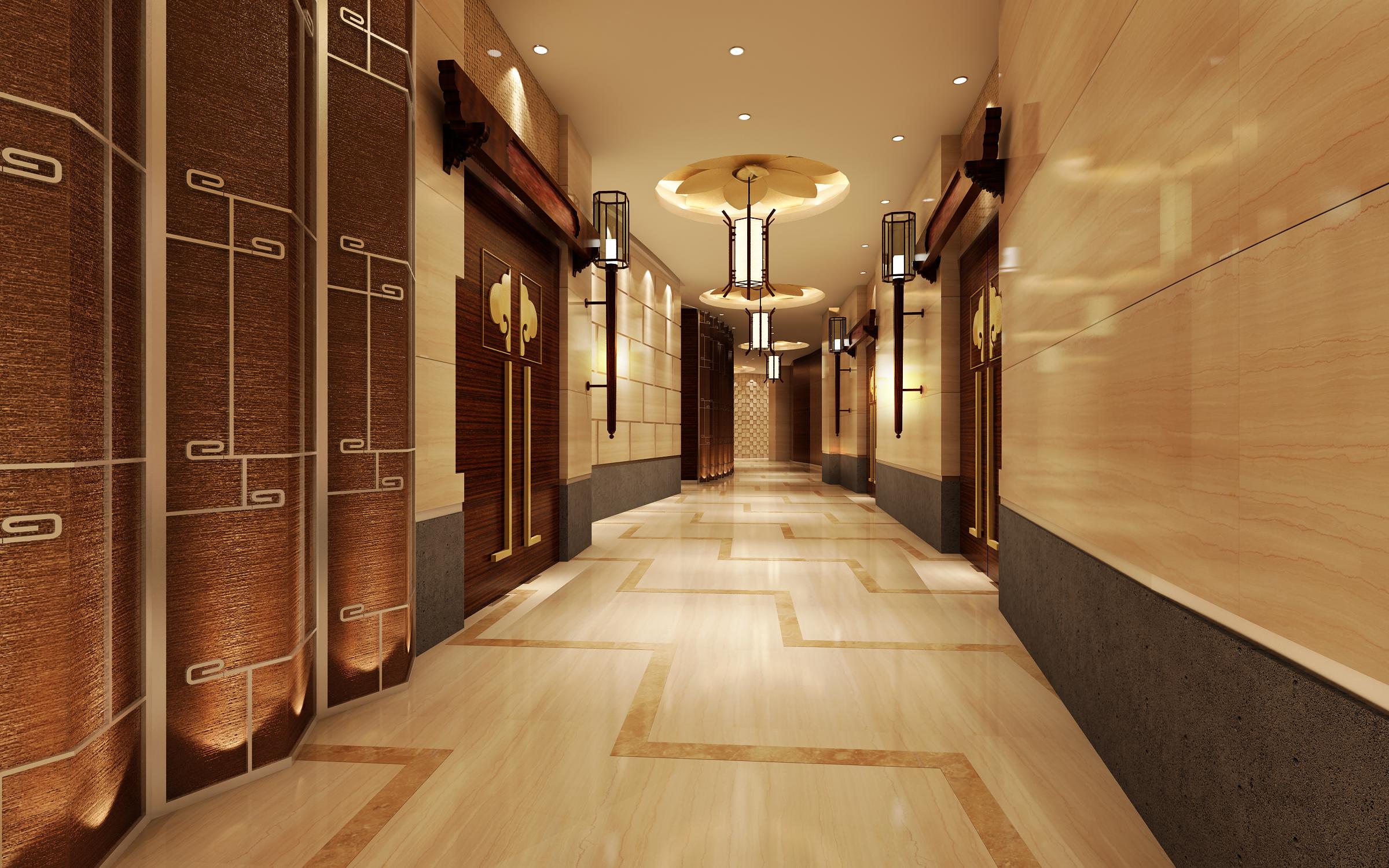corridor space 078 3d model max 136108