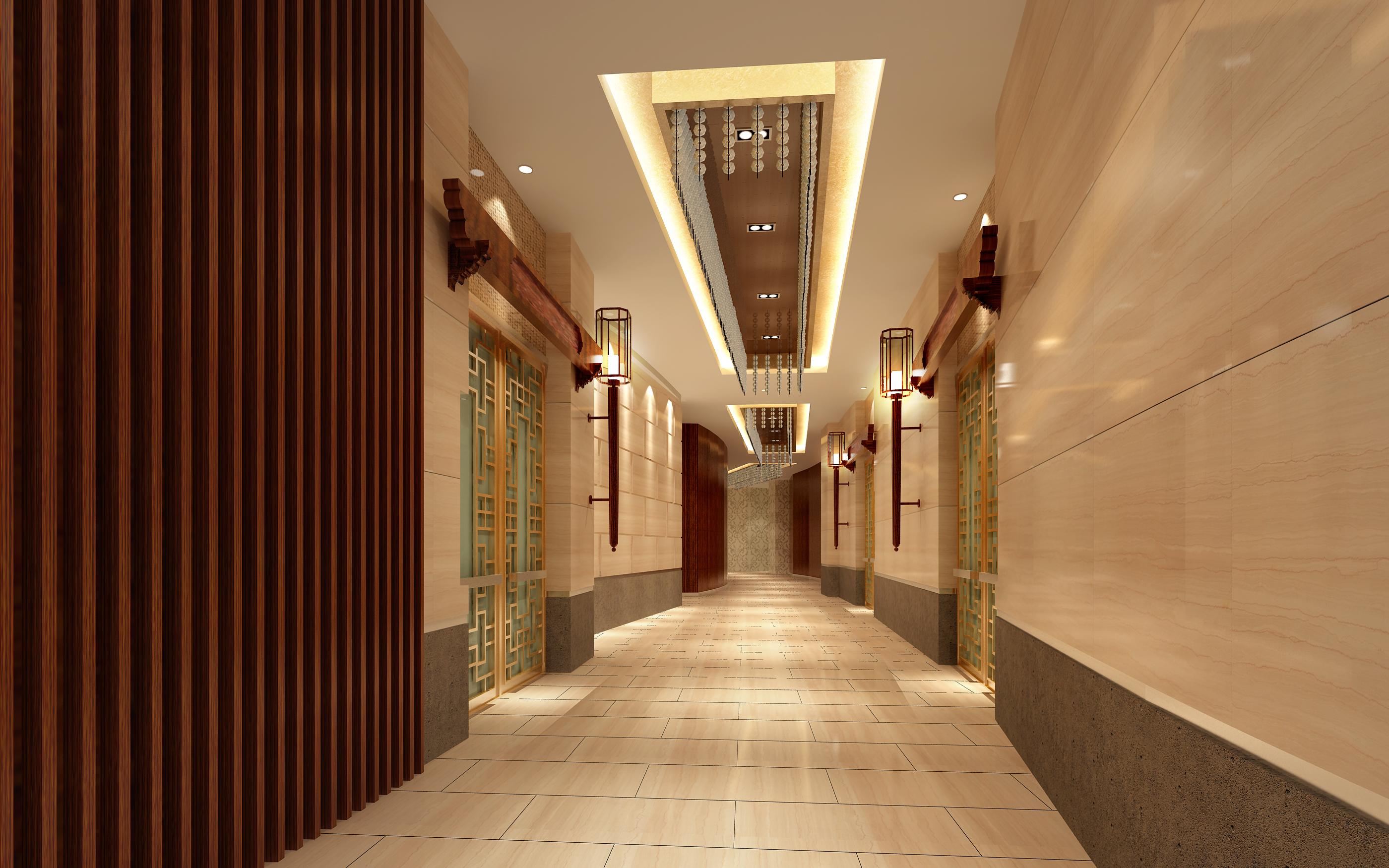 corridor space 079 3d model max 136110