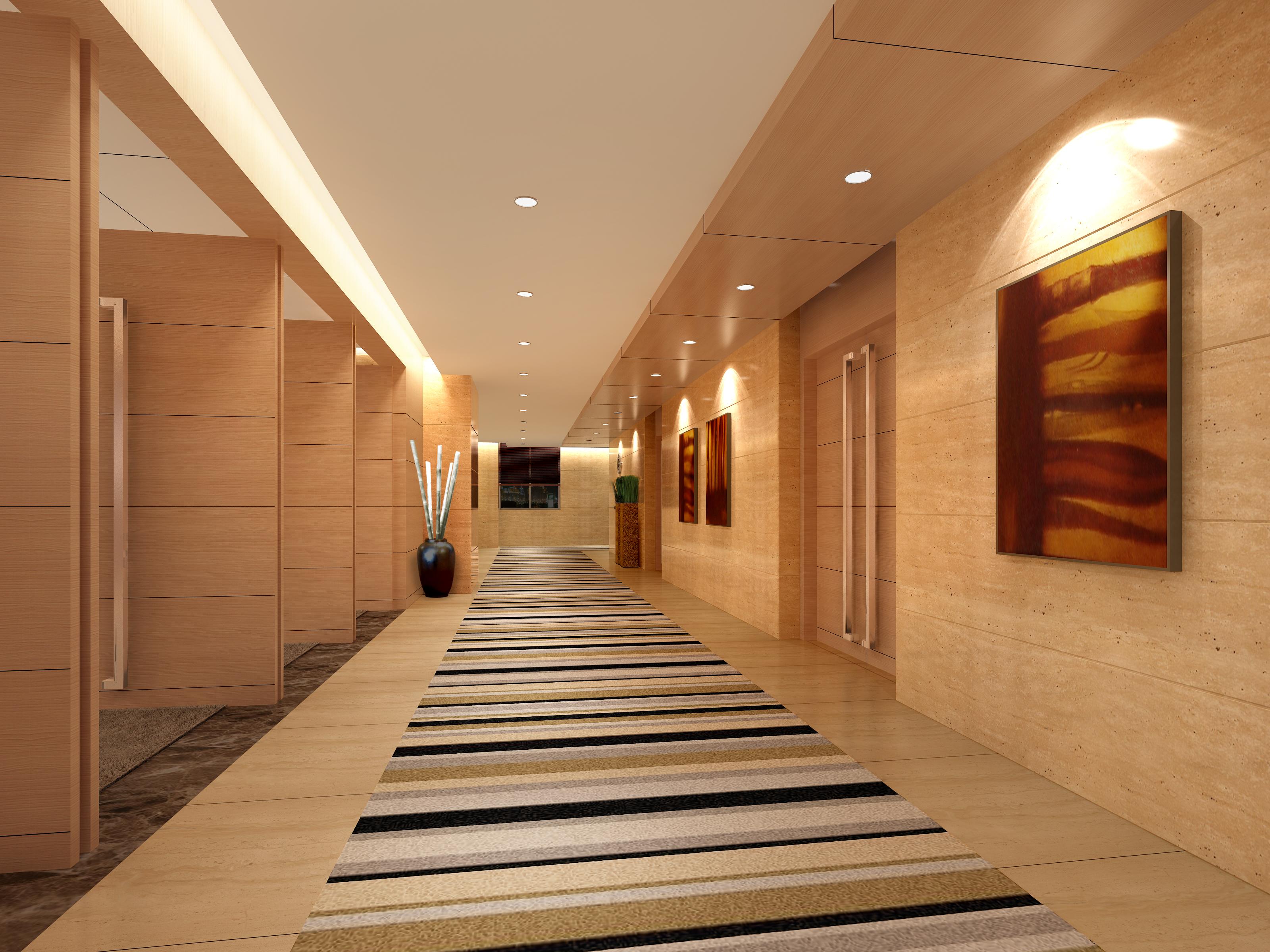 corridor space 080 3d model max 136112