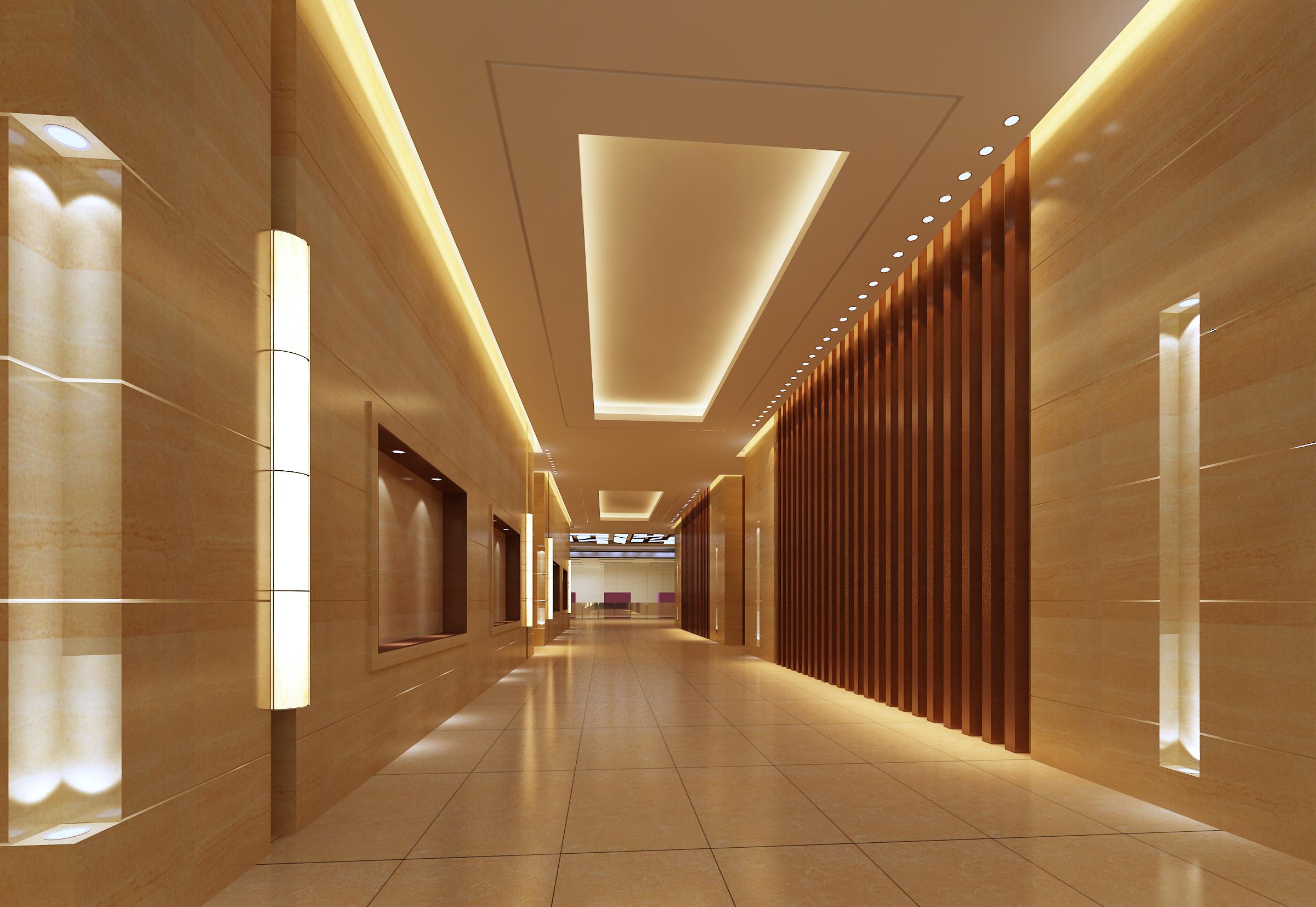 corridor space 082 3d model max 136116