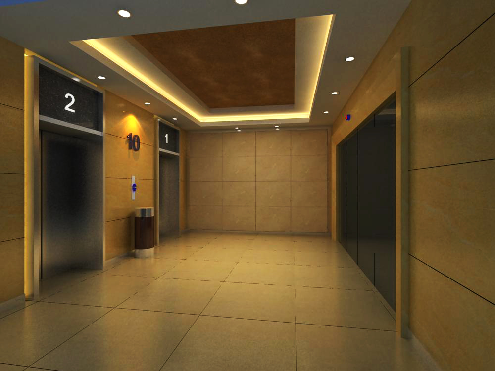 elevator space 005 two 3d model max 139732