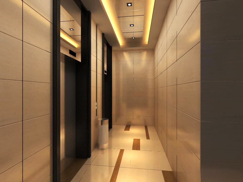 elevator space 008 two 3d model max 139738