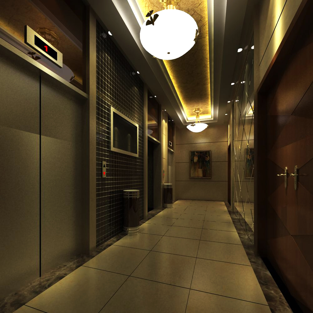 elevator space 012 two 3d model max 139746