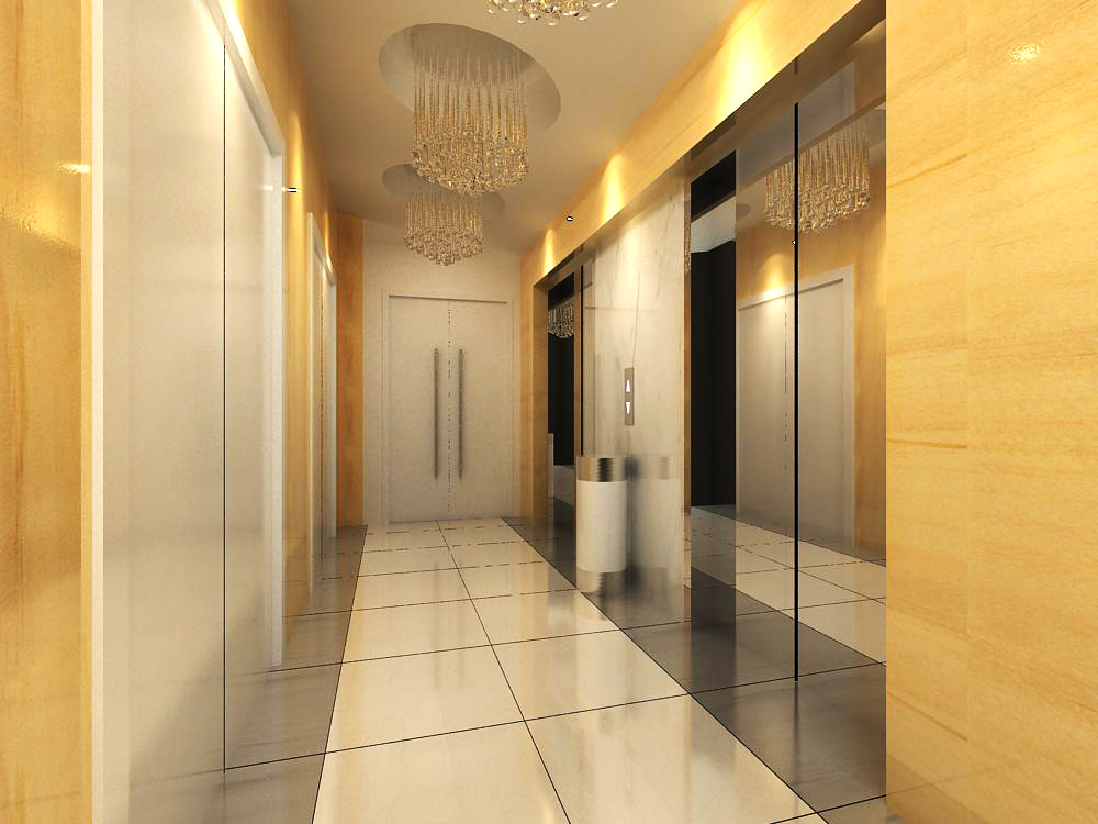 elevator space 014 two 3d model max 139750