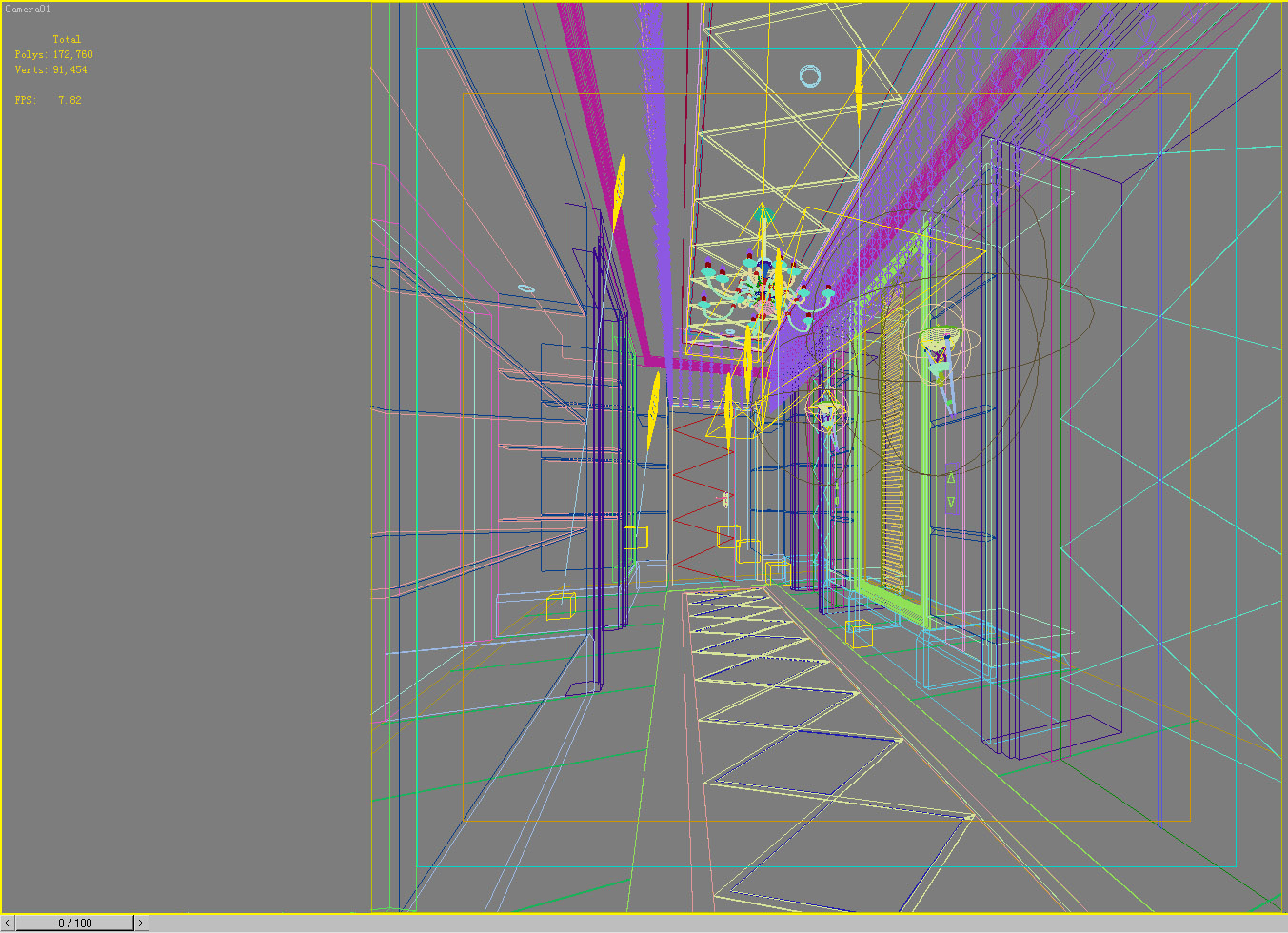 elevator space 015 two 3d model max 139753