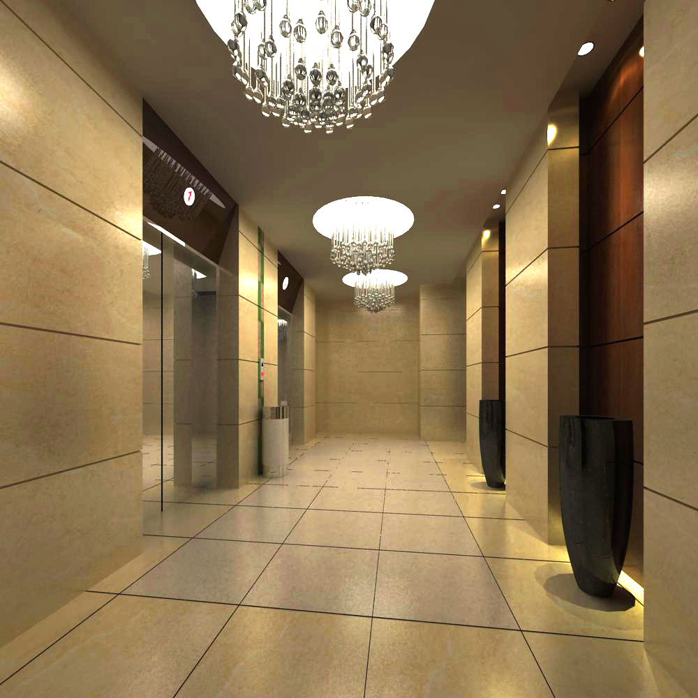 elevator space 016 two 3d model max 139754