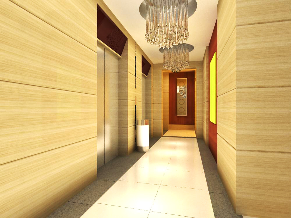 elevator space 017 two 3d model max 139756