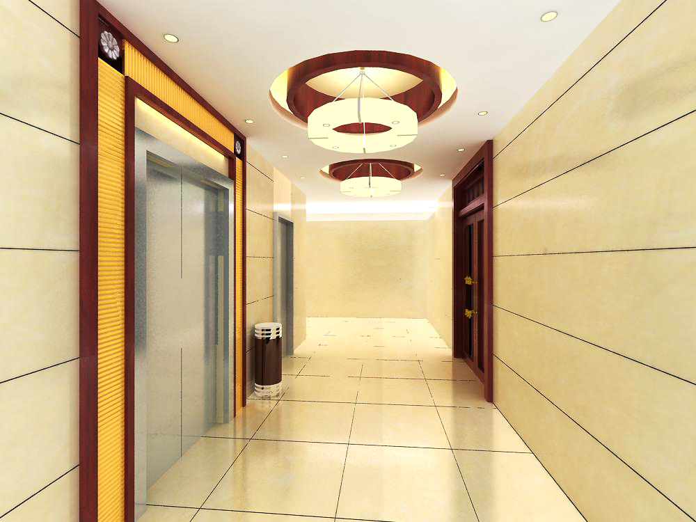 elevator space 018 two 3d model max 139758