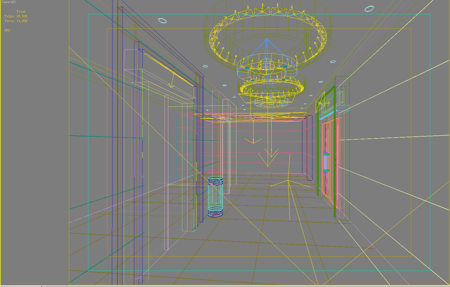 elevator space 018 two 3d model max 139759