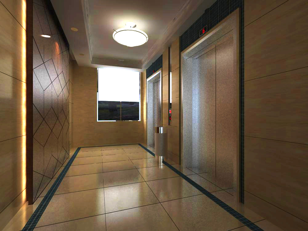 elevator space 019 two 3d model max 139760