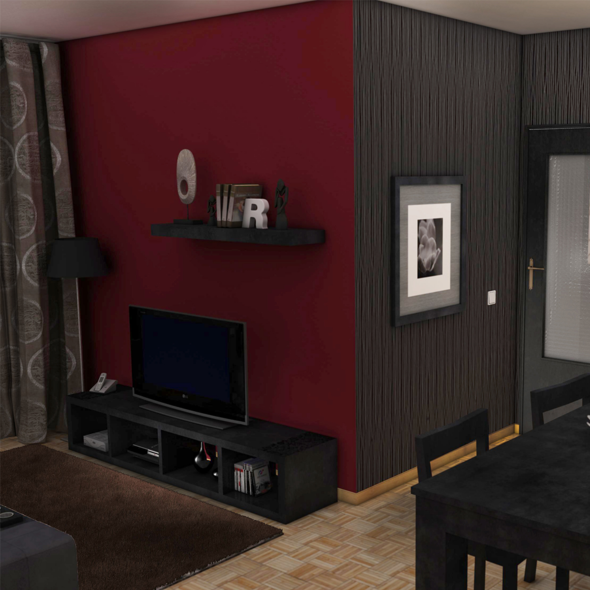 entire apartment 3d model fbx c4d ma mb obj 159636